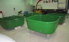 Pools for fish growing
