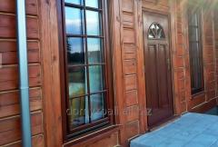 Renowacja, konserwacja oraz odnawianie domów drewnianych, uszczelnianie kitem domów z bali.