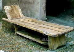 Meble dla saun i ogrodów