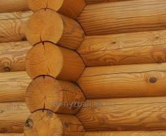 Arbors and gazebos made of round logs, square and