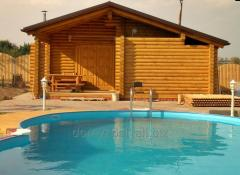 Saunas, spas and other recreational buildings made