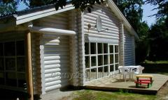 We offer log houses built in accordance with the