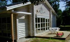 Oferujemy domy z bali drewnianych budowanych
