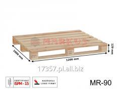 MR-90 paleta drewniana jednorazowa suszona