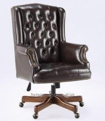 Seat it is made of genuine leather, a chair of the