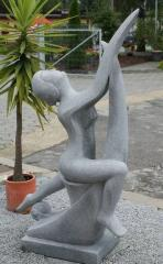 PUTTING granite sculpture for your garden