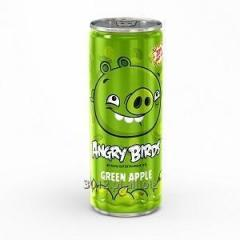 Angry Birds 250 ml soft drink - green apple