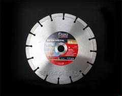 Disks for dry cutting