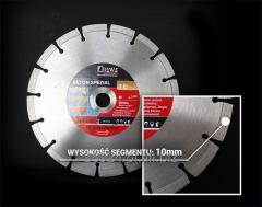 Very durable and efficient diamond cutting disc