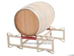 The overlay for a basis for barrels double is made