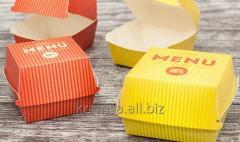 Burger Boxy standardowe lub według projektu