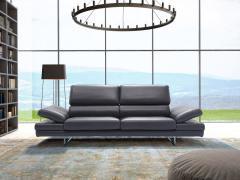 Ekskluzywna i komfortowa sofa ze skóry naturalnej