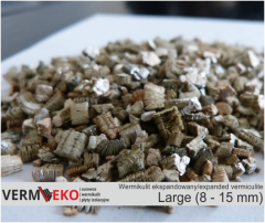 Wermikulit ekspandowany Frakcja Large 8 - 15 mm