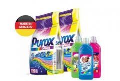 Proszek PUROX 2x10kg + płyn Waschkonig 4x1l