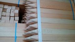 Paliki i kołki z bukowego drewna, producent,