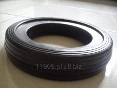 Molded mechanical rubber articles
