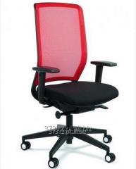 Siedziska do pracy przy biurku, bogata kolorystyka i wyposażenie dodatkowe, fotele ergonomiczne.