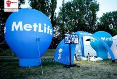 Vento, szczelnie pompowany namiot, rozstawiany w 5 minut
