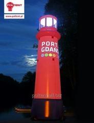 Nietuzinkowa reklama - dmuchańce w dowolnym kształcie, z nadrukiem na całej powierzchni i możliwością podświetlenia