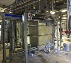Equipment for milk cooling