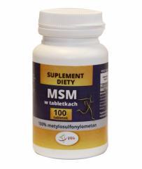 MSM w tabletkach