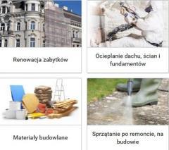 BUDOWNICTWO - chemia budowlana - produkty dla