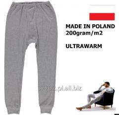 Men's underwear winter; Warm pants and