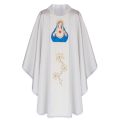 Chasuble – Immaculate Heart of Mary (111-SB)