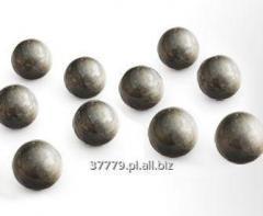 Steel grinding spheres