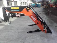 Extra equipment for tractors