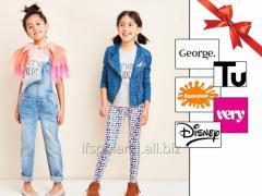 Микс детской одежды TU +