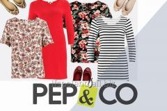 Pep&Co Odzież damska-męska na kilogramy - Jedyna oferta !