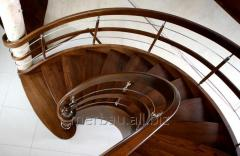 Rounded stairs