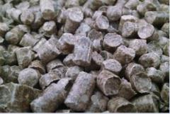 Pellets from a pine proibedenny in Ukraine.