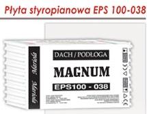 Styropian EPS 100-038 MAGNUM
