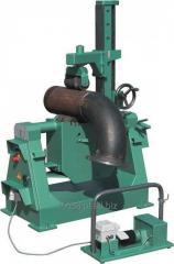 Obrotnik do rur z rolką dociskową - spawanie, fazowanie rur i kolan KISTLER U