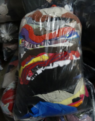 Used sportswear, second hand, sports clothing mix,