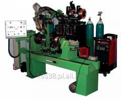 Automat Bode Lathe do spawania obwodowego zbiorników metodą MIG, TIG lub topnikiem, do produkcji seryjnej lub jednostkowej.