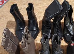 Zimowe obuwie używane