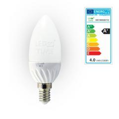 E14 C30 4W Żarówka LED 320lm,SMD,świeczka,barwa