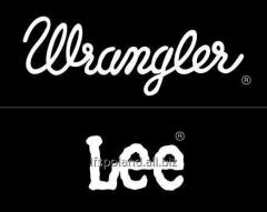 Lee/Wrangler clothes a drain - NEW COLLECTIONS