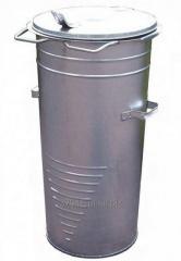 Pojemnik komunalny stalowy ocynkowany ogniowo o