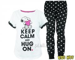Damska piżama Snoopy