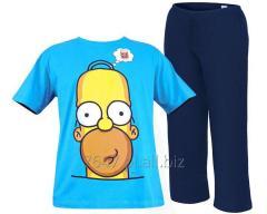 Męska piżama Simpsonowie