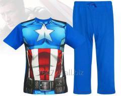 Męska piżama Avengers