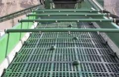 Single-stage vibrating screens
