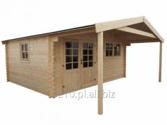 Domek ogrodowy do samodzielnego montażu 5x4+1,9 m