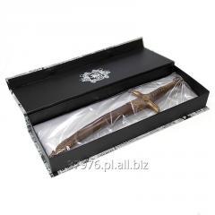 Sztylet z czekolady deserowej idealny na prezent