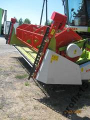 Harvester for rapeseed with electric scythes 12/24