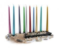 Lakiery do świec pozwalające na spalanie świecy do
